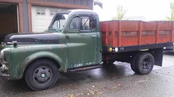 Original Work Truck: 1953 Dodge B4D Flatbed  1953 Dodge Flatbed Truck