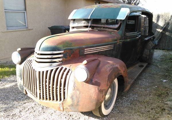 1946 Chevy Canopy Express. left front & Canapés Anyone? 1946 Chevy Canopy Express