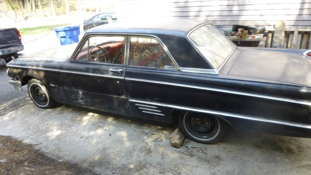 Stored For 40 Years 1962 Mercury Meteor