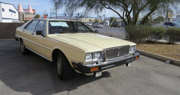 Executive Express: 1982 Maserati Quattroporte