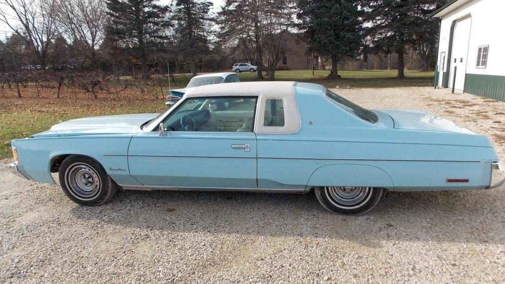Huge Survivor Coupe 1976 Chrysler Newport