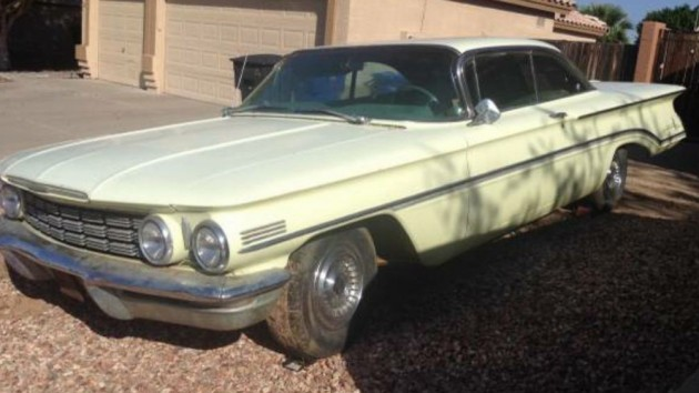 Not Far From Driver Status: 1960 Oldsmobile 98