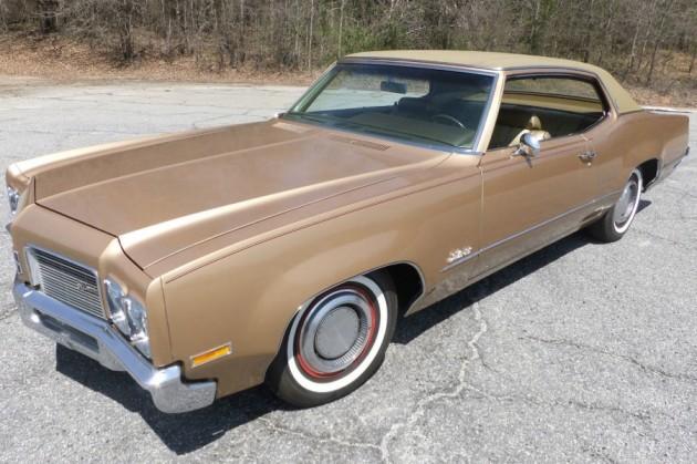 22 800 Miles 1970 Oldsmobile Delta 88 Coupe