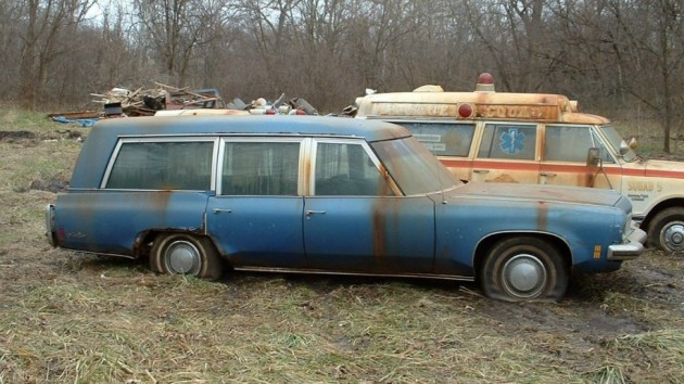 It's Not A Cadillac! 1973 Oldsmobile Hearse