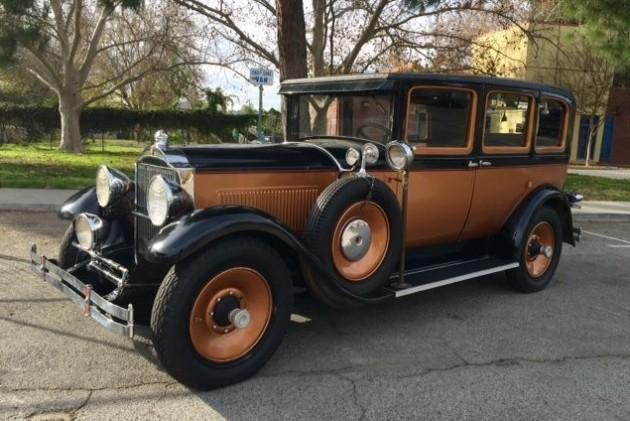 Pure Class: 1929 Packard 626