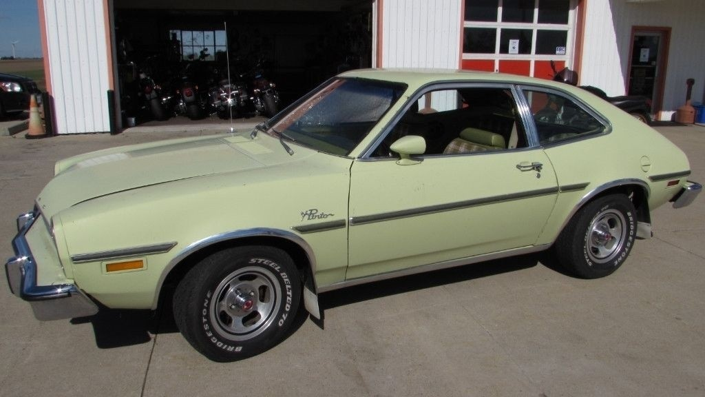 Green Plaid This Time 1976 Ford Pinto