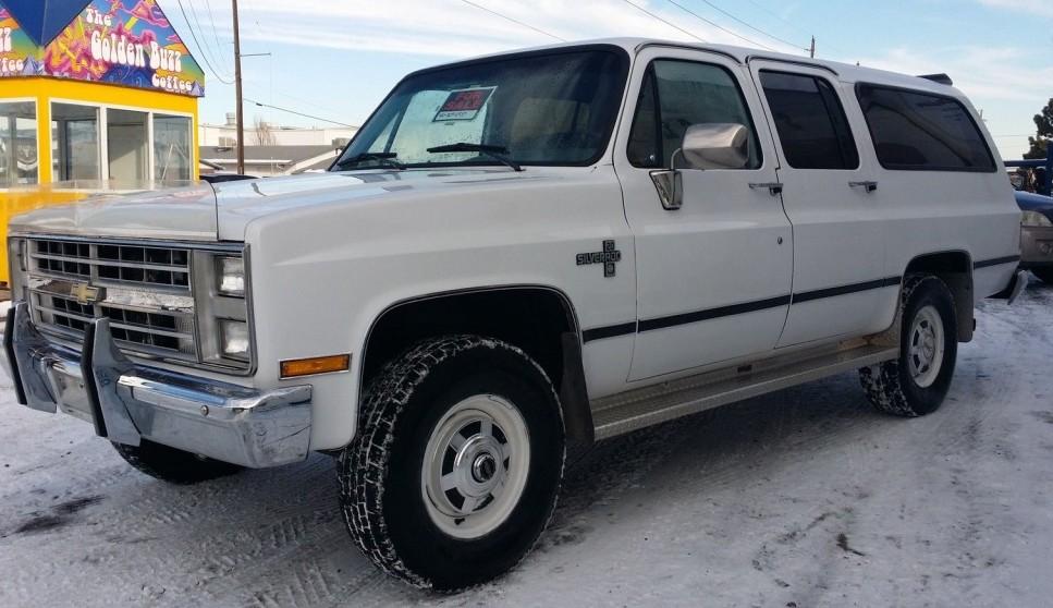 Diesel Chevy Suburban >> Brute Survivor: 1987 Chevrolet Suburban