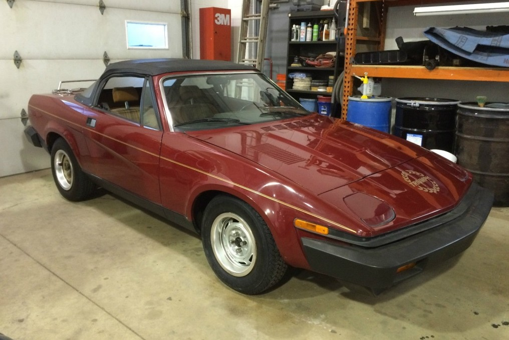 only one problem  1980 triumph tr7