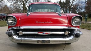 Some Like It Hot, I Like It Red: 1957 Chevy 210