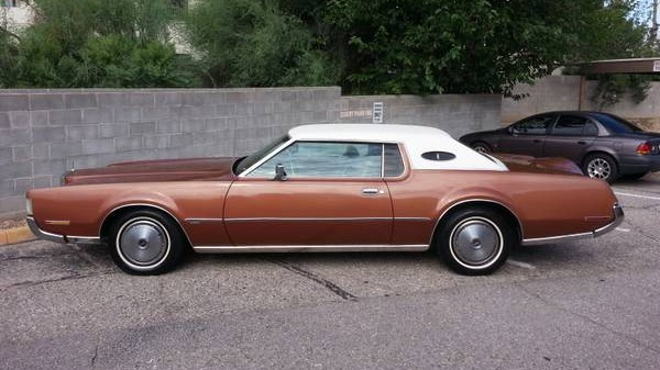 Mark This: 1972 Lincoln Continental Mark IV
