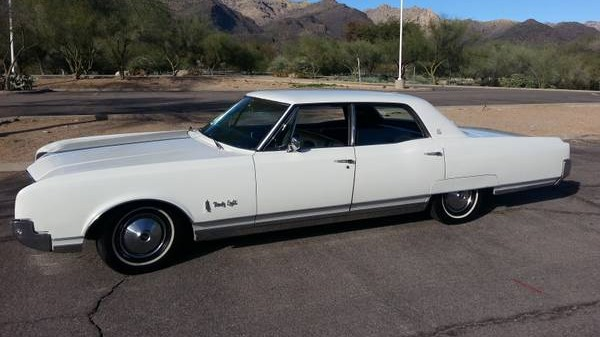 Is It A Car Or A Boat? 1966 Oldsmobile 98 LS