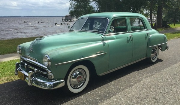 Pristine And Minty 1951 Plymouth Cranbrook