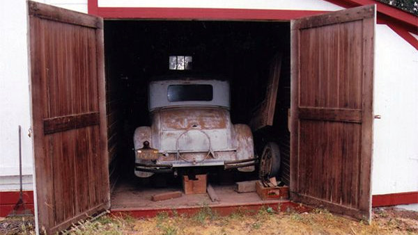 Museum Kept Barn Find: 1928 Studebaker