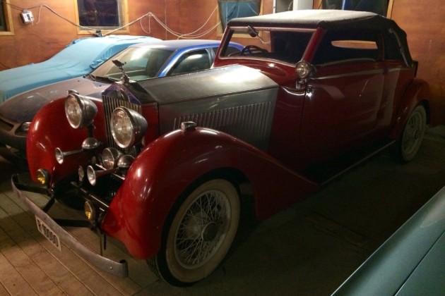 1934 Rolls-Royce Barn Find