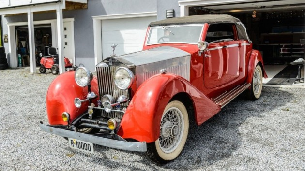 1934 Rolls Royce Up For Grabs!