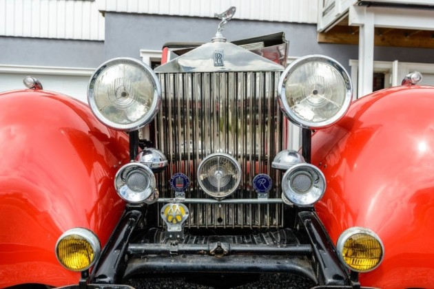 1934 Rolls-Royce Convertible Grille
