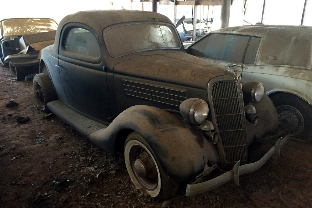 1935 ford 3 window for 45k for 1935 pontiac 3 window coupe
