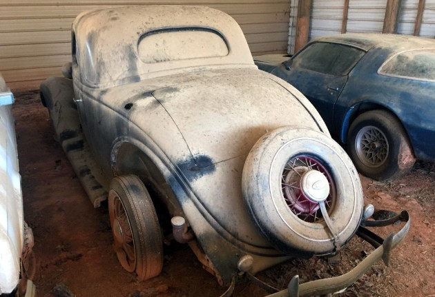 1935 Ford Coupe Barn Find