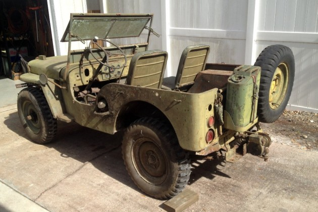 1948 Willys Jeep M38
