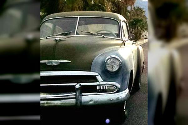 Desert Daily Driver  1951 Chevy Fleetline