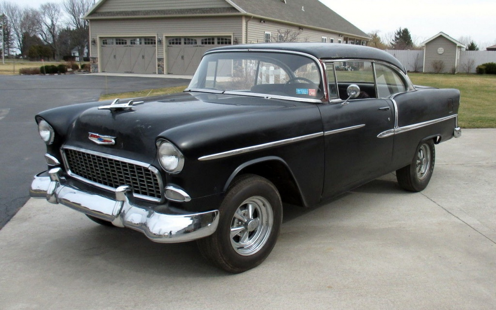 Parked For 40 Years 1955 Chevrolet Bel Air