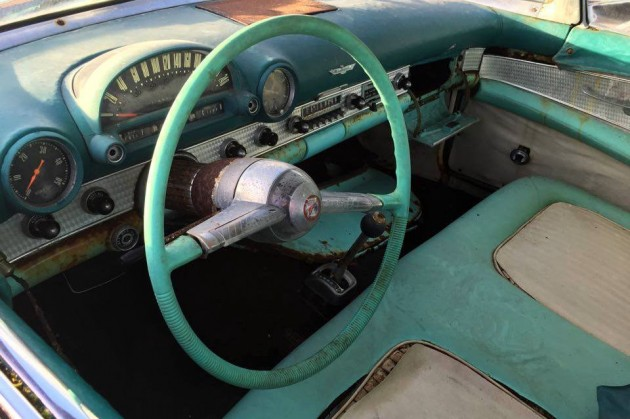 1955 Ford Thunderbird Interior