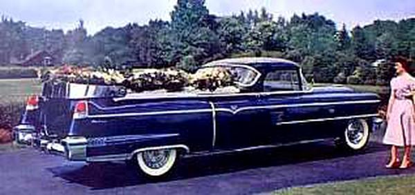 1956 Cadillac Flower Car