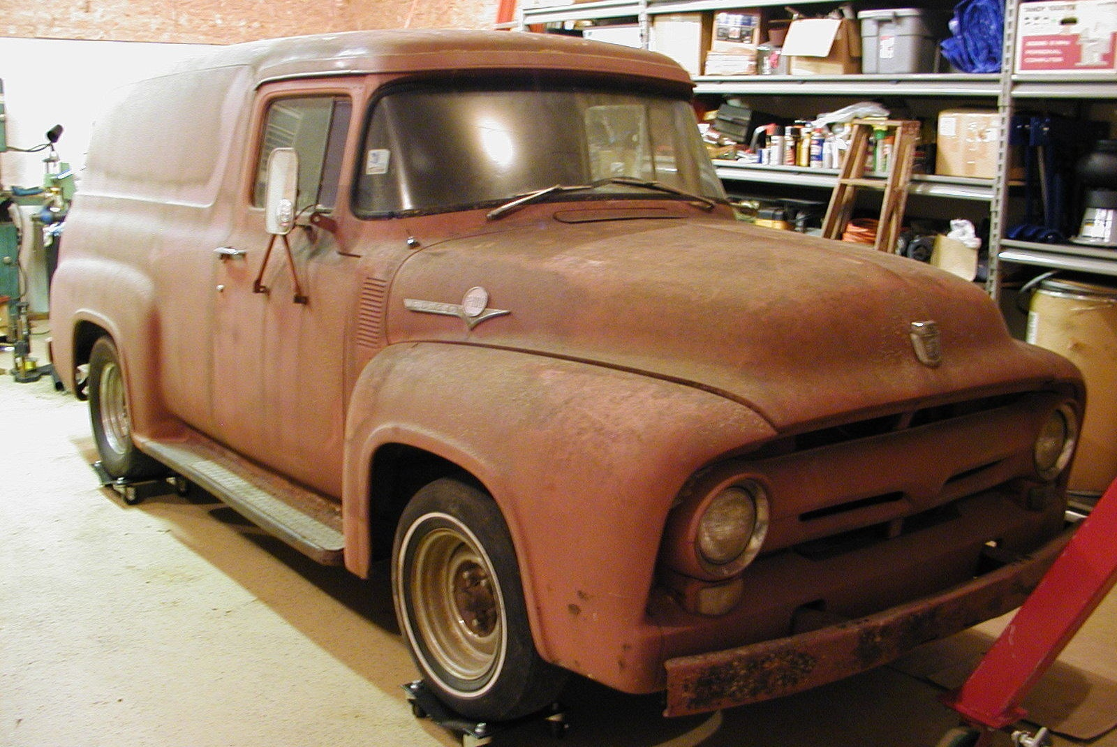 Milk Man S 1956 Ford Panel Van