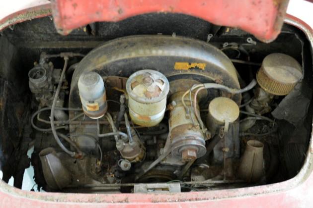 1957 Porsche Speedster Engine