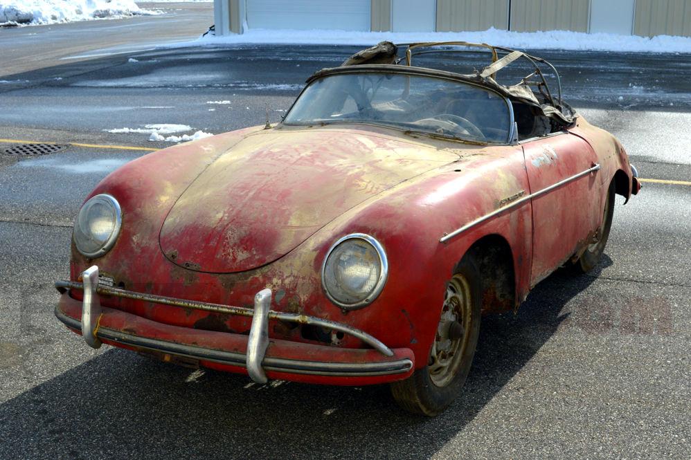 Another Porsche Speedster Barn Find