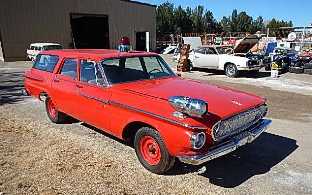 Fire Chief S Ride 1962 Dodge Dart Wagon
