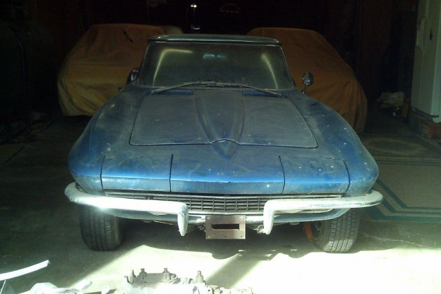 Spring Project: 1965 Corvette Convertible