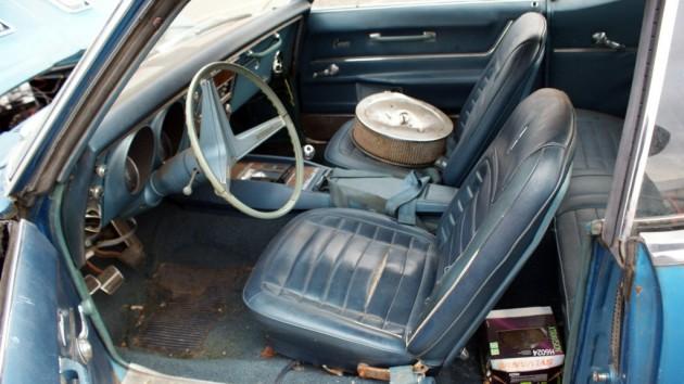 1968 Camaro SS-RS Interior