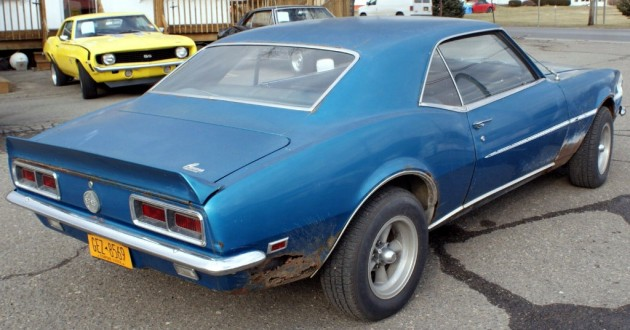1968 Camaro SS-RS Project