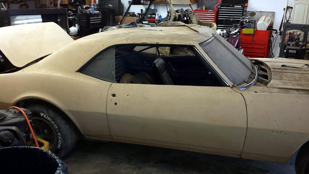 Estate Sale Season: 1968 Camaro SS