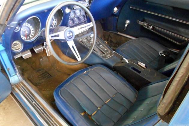 1968 Corvette L79 Interior