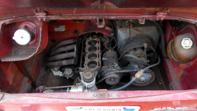 1968 Fiat 850 Coupe Engine