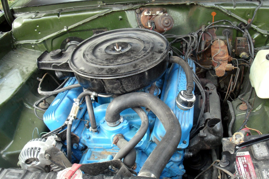 Plaid Perfection 1971 Dodge Demon 340