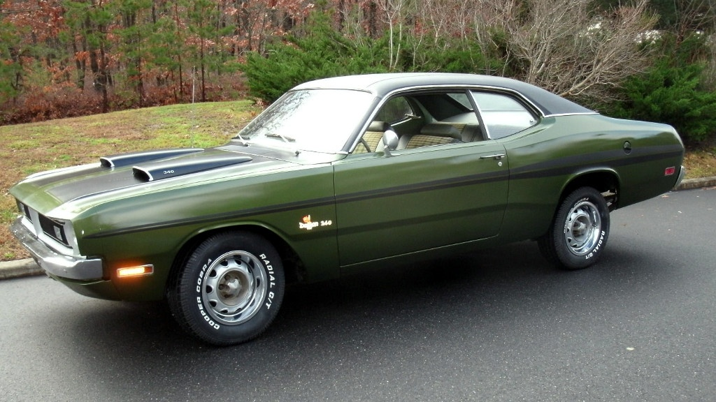 Plaid Perfection: 1971 Dodge Demon 340
