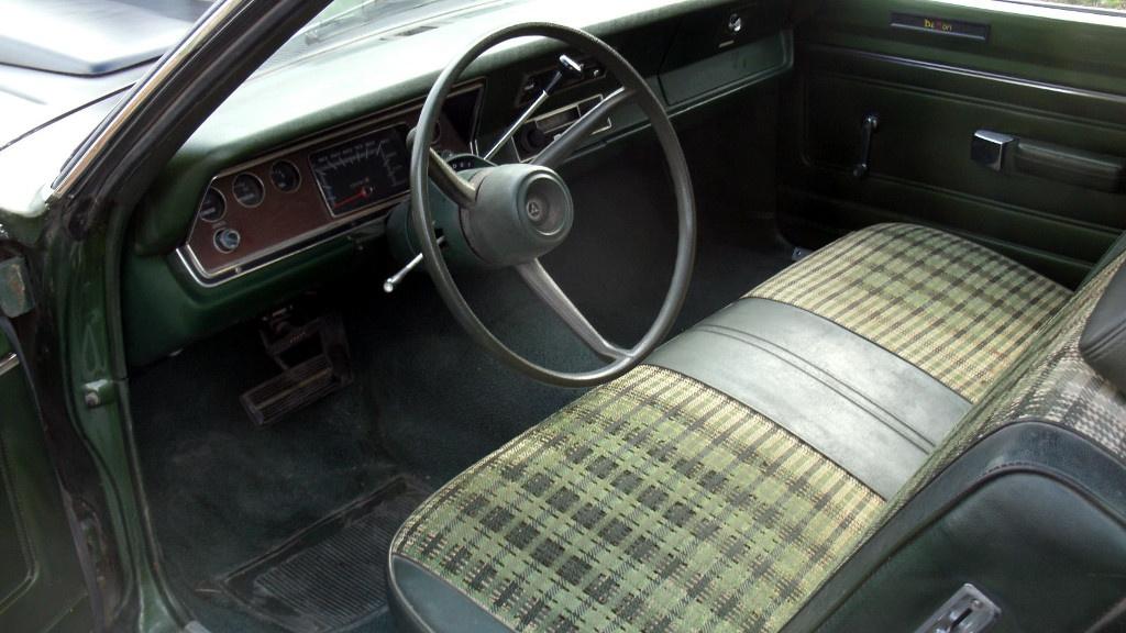 plaid perfection 1971 dodge demon 340. Black Bedroom Furniture Sets. Home Design Ideas