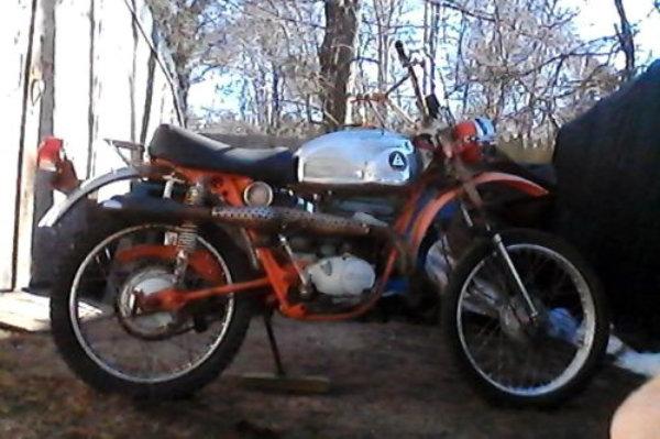 1972 Hodaka Ace 100B+