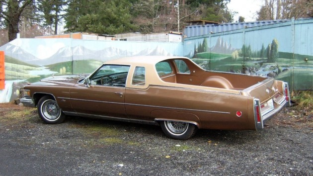 Caddy Truck: 1976 Cadillac DeVille Mirage