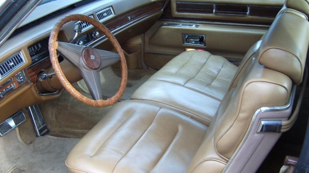 1976 Cadillac Mirage Interior