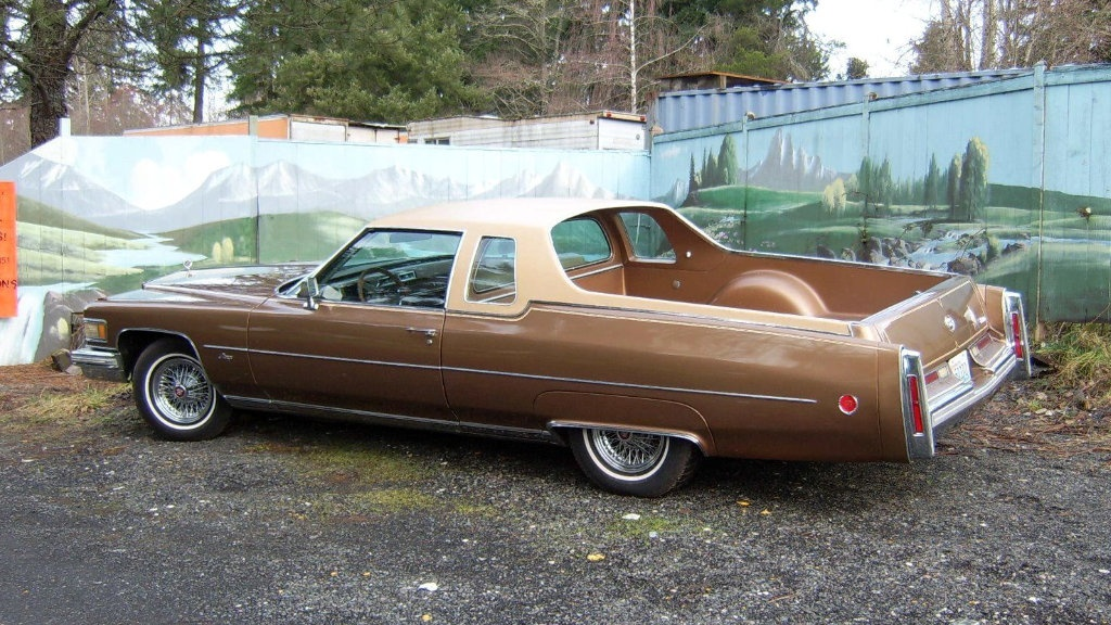 Caddy Truck 1976 Cadillac Deville Mirage
