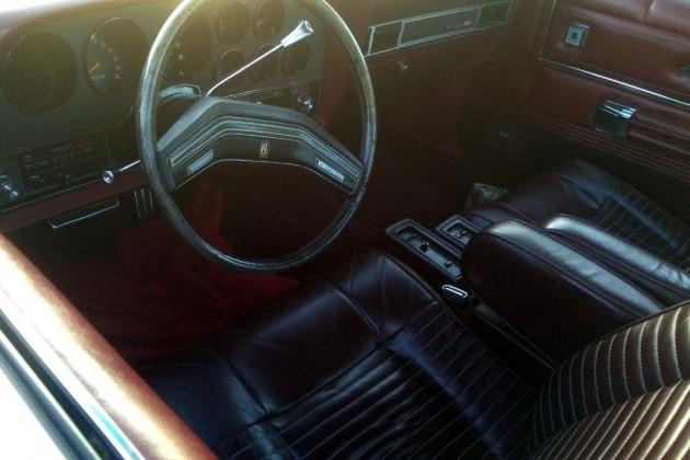 1977 Ford Ranchero GT Interior