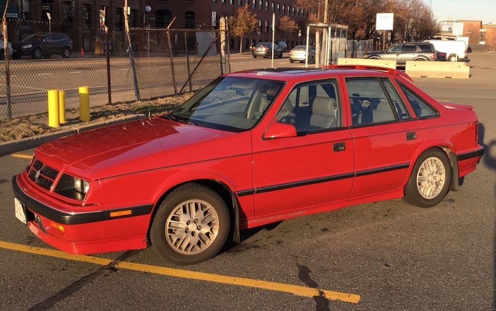 Modern Classic: 1989 Dodge Lancer Shelby