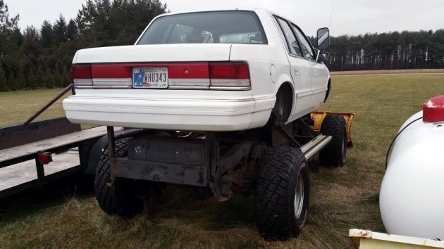 1993 Plymouth Acclaim Plow