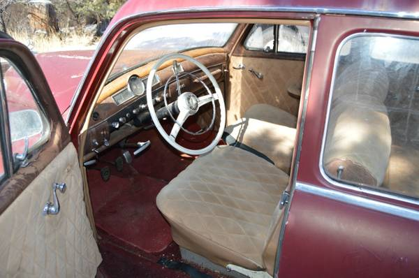 '57 MB190 front seats