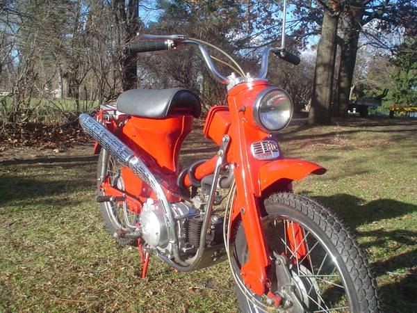 Remember The 60's? 1966 Honda CT200