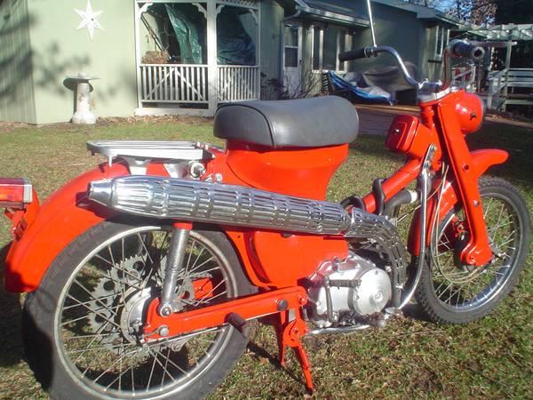 Remember The 60 S 1966 Honda Ct200